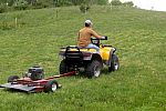 Pull Behind Mower