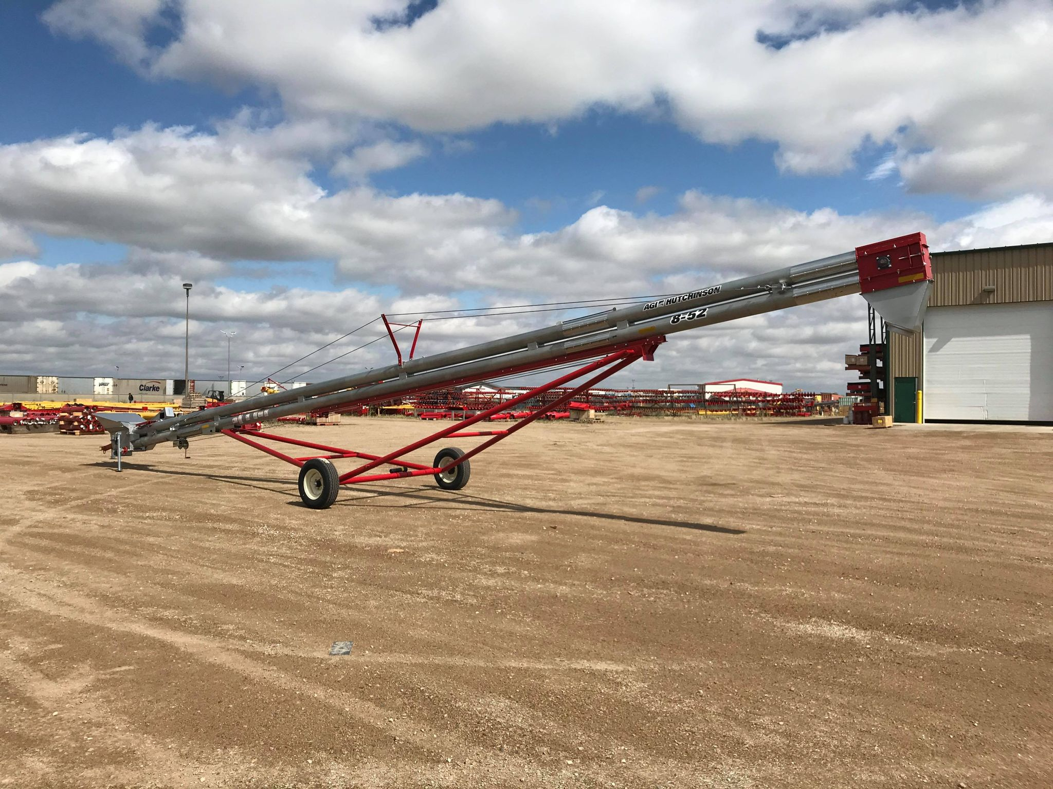 Image of AGI Hutchinson Double Run Chain Conveyor from Flaman Agriculture