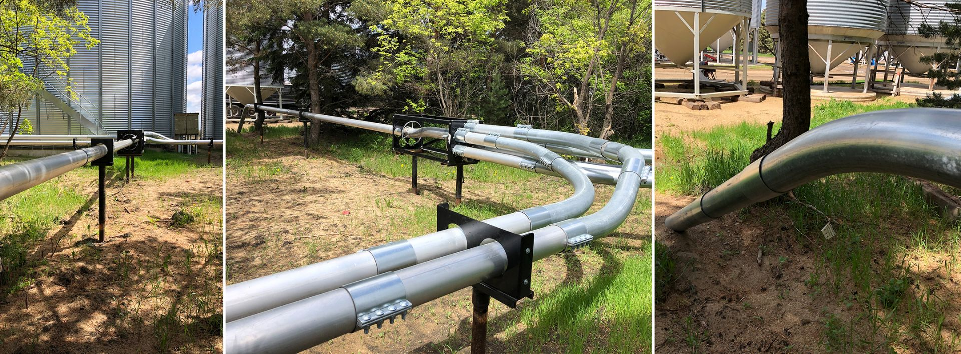 Walinga Blower system pipes