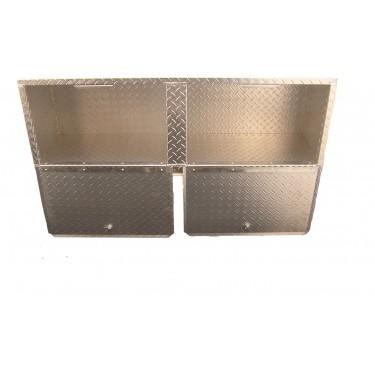 "Diamond Plate Overhead Cabinet - 48"""