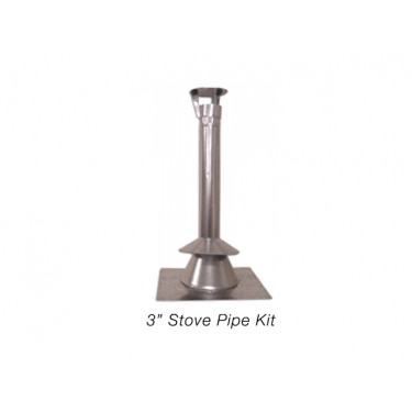"3"" Stove Pipe Kit"