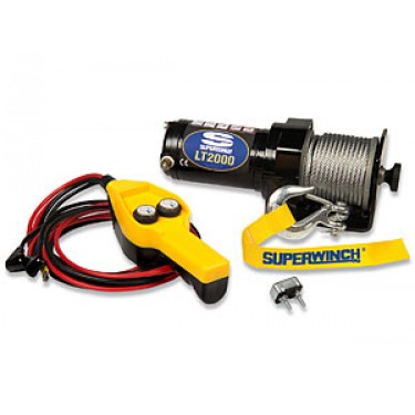 Superwinch LT2000 show with wired remote