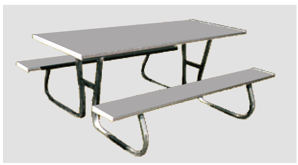Flaman Parts Sided Picnic Table Picnic Tables Summer Recreation - Picnic table trailer