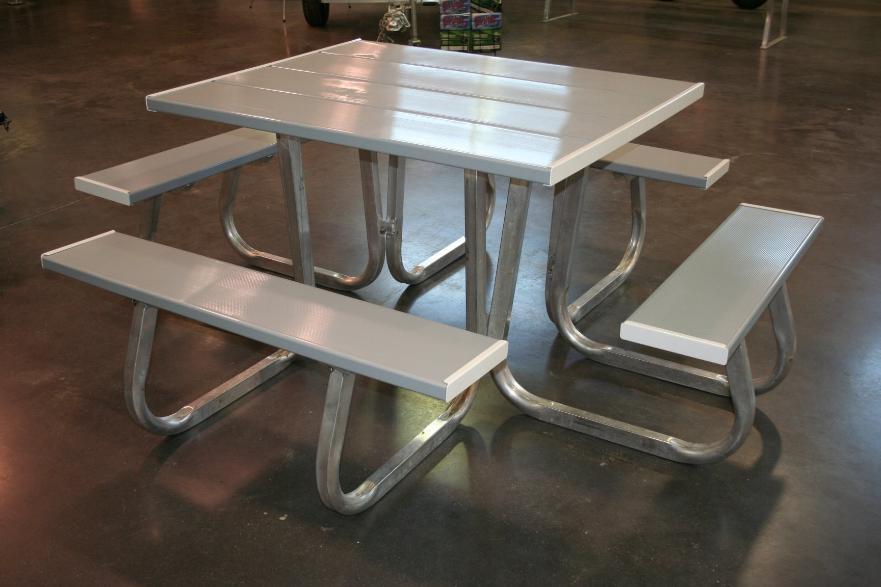 Flaman parts 4 sided picnic table picnic tables summer recreation 4 sided picnic table watchthetrailerfo