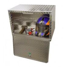 "Diamond Plate Overhead Cabinet - 24"""