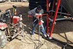 Bin Anchor Hydraulic Driver
